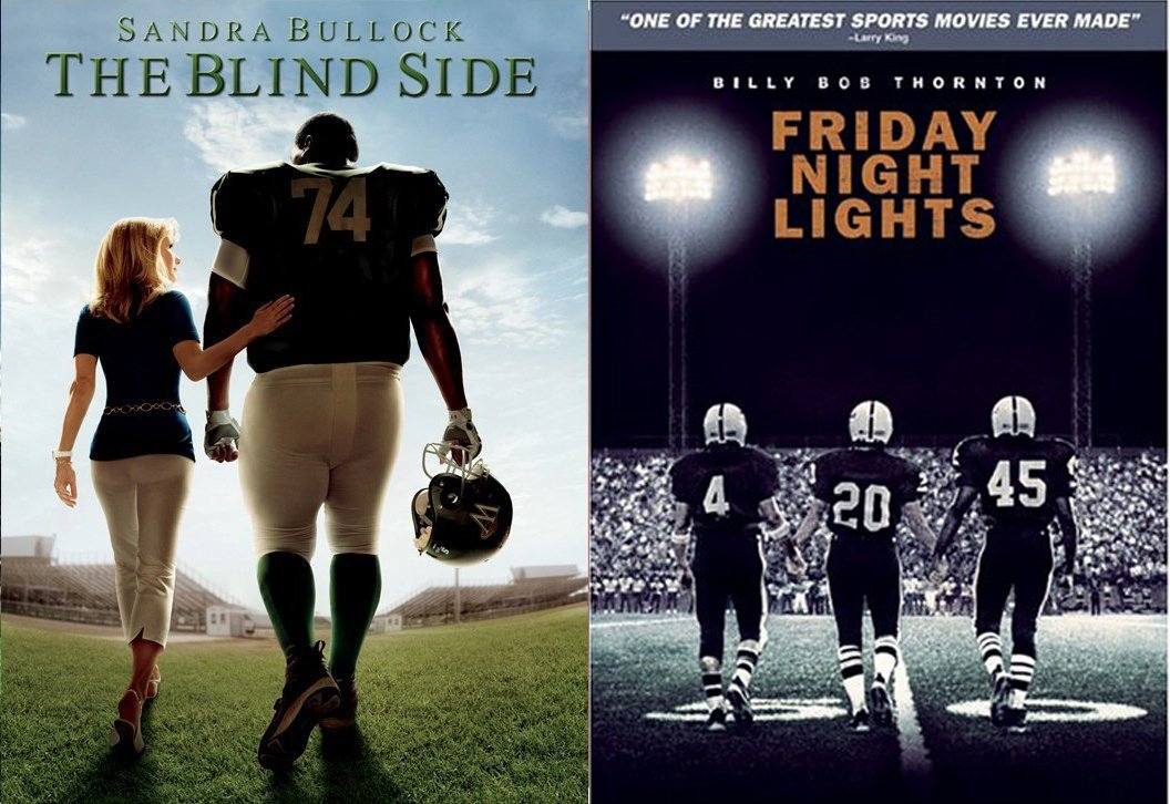 Amazon Com Friday Night Lights True Story The Blind Side Dvd