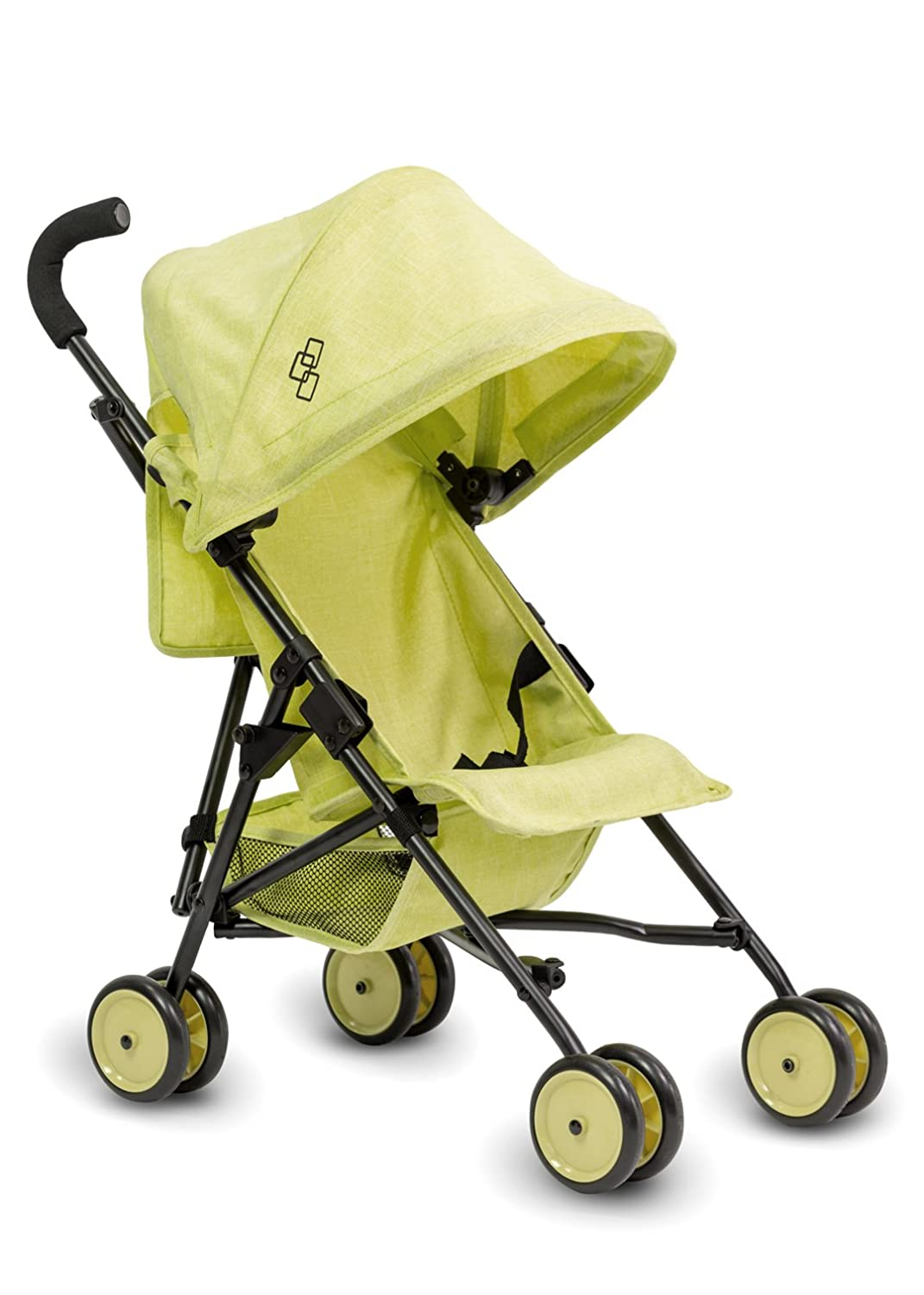 Triokid My First Baby Doll Stroller Miniline Lemon Green Travel Stroller Portable Stroller Drawable Fabric with B01N5I8E2T