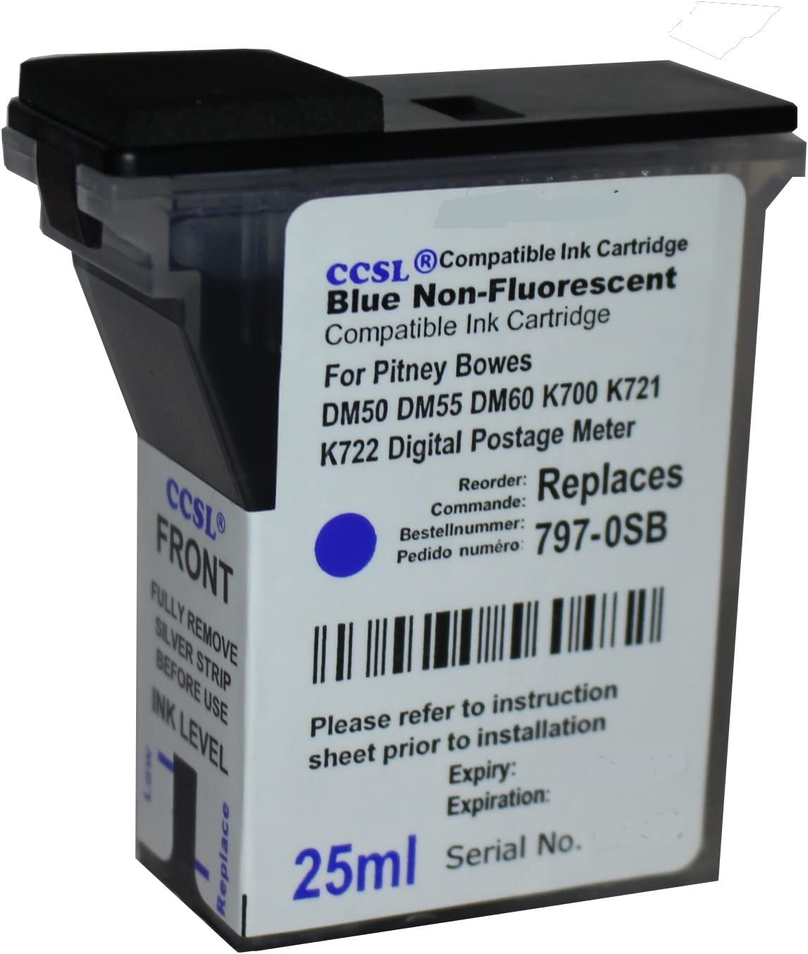 Suitable for DC5550 Powder Box 5550 Black Ink Cartridge Digital Copier Office Supplies Strong Compatibility