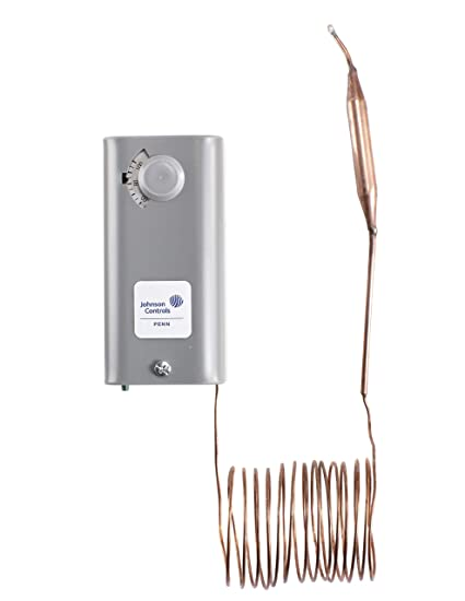 Johnson controls a19abc-24 C electromecánicos termostato Temp -30 – 100 F Johnson Control