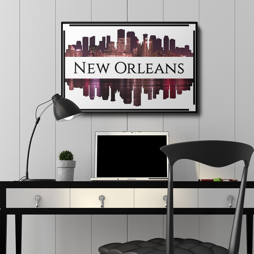 Wall26 city skyline series new orleans canvas art for Home decor new orleans