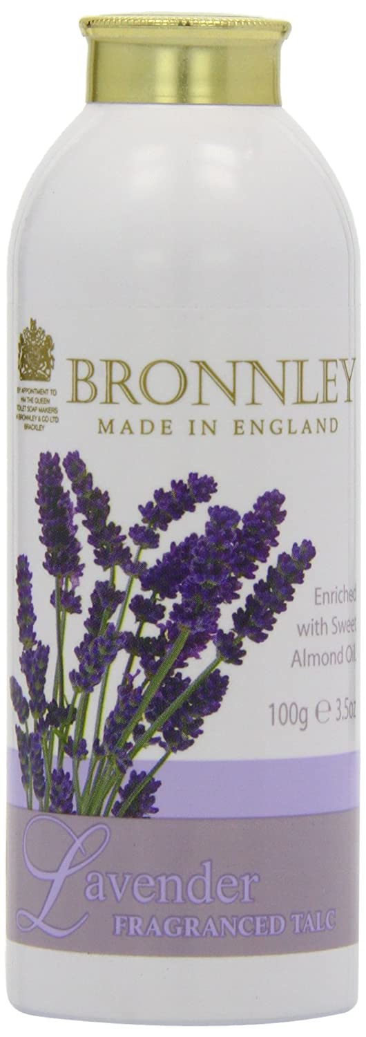 Bronnley Lavender Fragranced Talc 100g H. Bronnley & Co. UK Ltd 270135