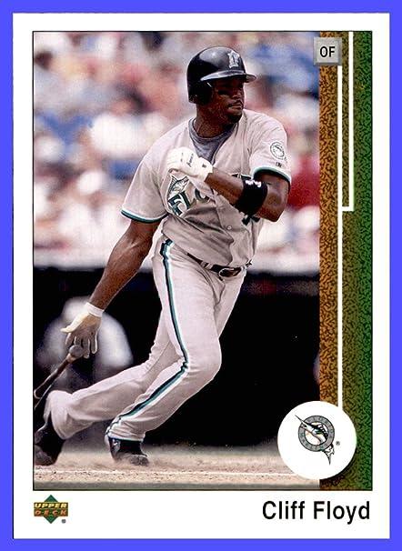 f856f1d68d8 Amazon.com  2002 Upper Deck UD Authentics  139 Cliff Floyd MLB Network  MIAMI FLORIDA MARLINS  Sports Collectibles