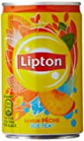 Lipton  Ice Tea saveur Pêche lot 12 Boites x 15Cl