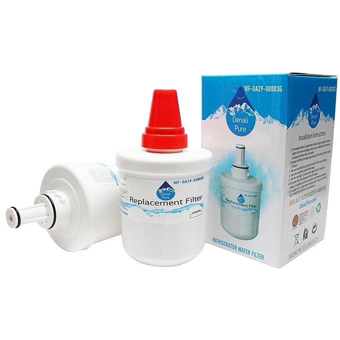2 de repuesto Samsung RSH1KLBG nevera filtro de agua - Compatible ...