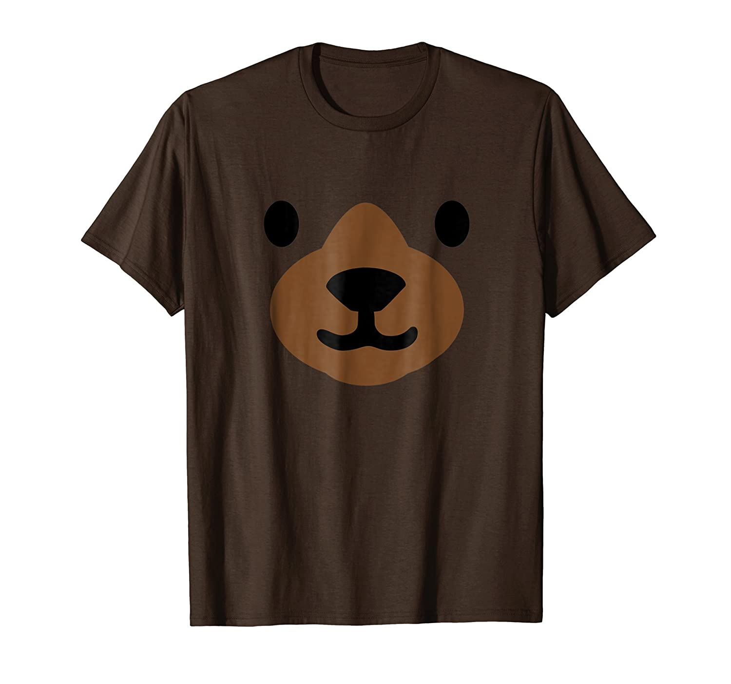 Bear Face Halloween Costume Shirt Funny-Teesml