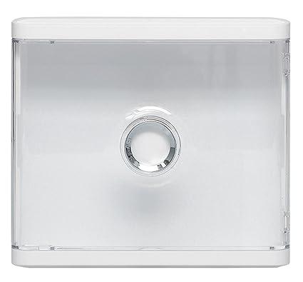 Legrand LEG401188 - Embellecedor y tapa transparente para placa de conexión DRIVIA