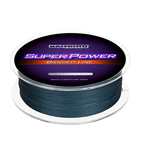 KastKing SuperPower Braided Fishing Line - Abrasion Resistant Braided Lines - Incredible Superline - Zero Stretch - Smaller Diameter - A Must-Have!