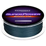 KastKing SuperPower Braided Fishing Line - Abrasion Resistant Braided Lines – Incredible Superline – Zero Stretch – Smaller D