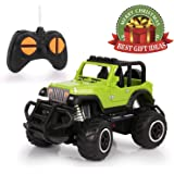 Remote Control Car, HALOFUN Mini RC Cars for Kids, Jeep Vehicle Sport Racing Hobby 1:43 Scale for Boys Girls