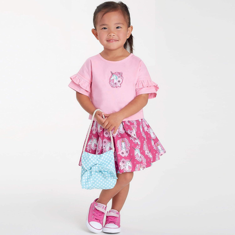 gonne e borsette Vario per bambini 1//2-1-2-3-4 A Simplicity SS9118A S9118-Cartamodello per maglie