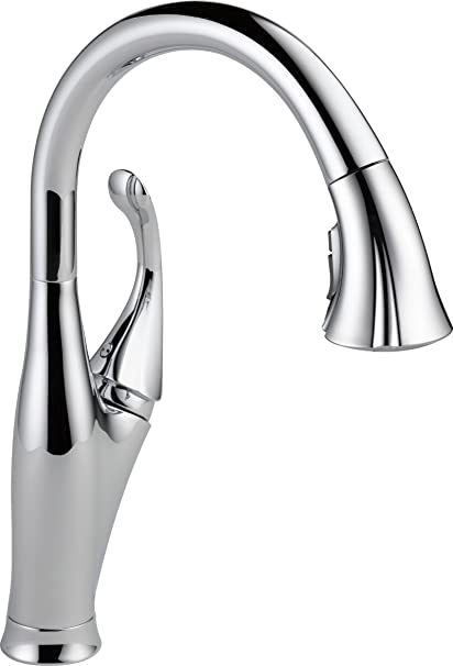Delta 9192-DST Addison Single-Handle Pull-Down Kitchen Faucet with ...