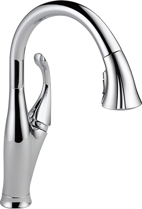 Delta Addison Single Handle Pull Down Kitchen Faucet With ShieldSpray And  MagnaTite Docking, Chrome