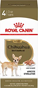 Royal Canin Chihuahua Adult Breed Specific Wet Dog Food, 3 oz. can (Pack of 4)