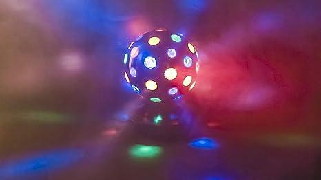 Eurosell Multicolor Bola De Discoteca ánimo lámpara bola pelota ...