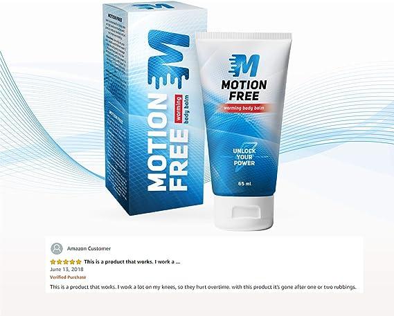Motion Free – Bálsamo para calentar el cuerpo - Bálsamo para ...