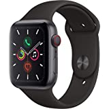 Apple Watch Series 5 (GPS+Cellular, 44mm) - Space Gray Aluminium Case with Black Sport Band