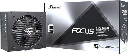 Seasonic Focus Px 650 Vollmodulares Pc Netzteil 80plus Computer Zubehör