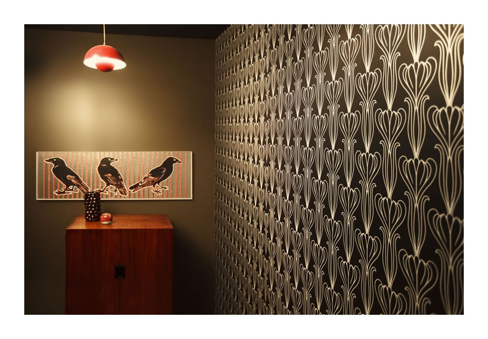 amazoncom tempaper bela temporary wallpaper midnight home u0026 kitchen