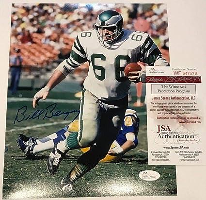 845a60d22 Bill Bergey Autographed Signed Philadelphia Eagles 8x10 Photo - JSA  Authentic