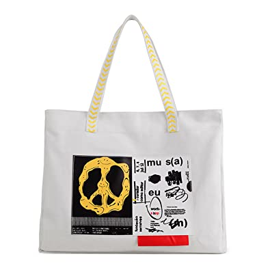 d3ad3e8ff4 Young   Ming - Large Women Female Shopping bag Totes Handbag with Fashion  Priting icon for Shopping Travel   working  Amazon.co.uk  Shoes   Bags