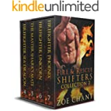 Fire & Rescue Shifters Collection 2: Books 4-7 (Fire & Rescue Shifters Series Box Set)