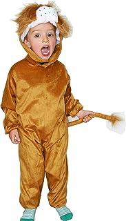 Fun Play Lion Costume Animal Onesie Kidsu2013 Animal Costume for 5-7 years (  sc 1 st  Amazon UK & Kids Lion Animal Fancy Dress Jungle Costume: Amazon.co.uk: Clothing