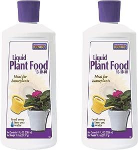 Bonide - Liquid Plant Food, 10-10-10 Soil Fertilizer (Pack of 2 8 oz)