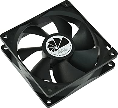 AAB Cooling Fan 9 - Un Silencioso Ventilador PC de la Serie Económica, Fan PC, Ventilador Laptop, Cooler 9cm, 92mm Ventilador 12V, 68 m3/h, 2200 RPM: Amazon.es: Electrónica