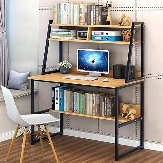 Ncloyn Mesa Pc Madera Mesa De Oficina,Mesa De Ordenador Moderno ...