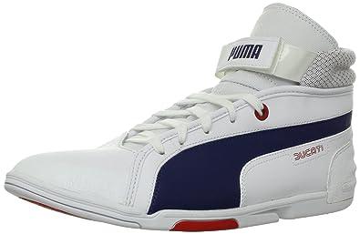 0105465cb9a PUMA Men s Xelerate Mid Ducati NM Fashion Sneaker