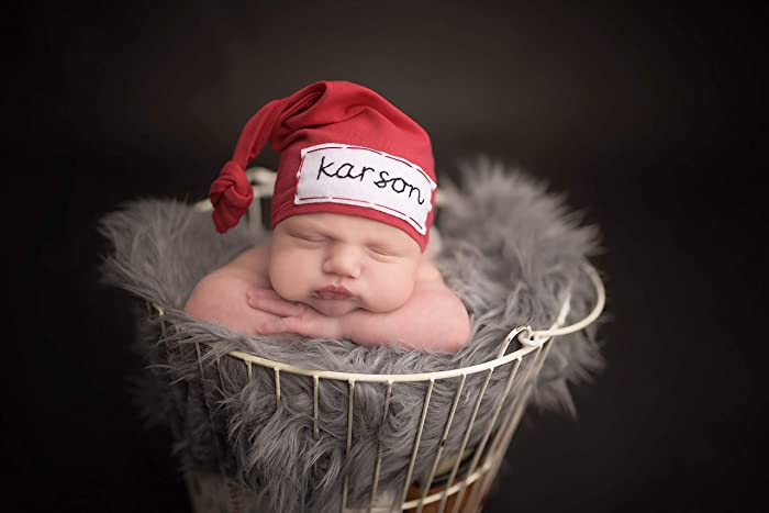 394d77763 Amazon.com: Red Newborn Baby Boy Infant Hat Hospital Coming Home ...