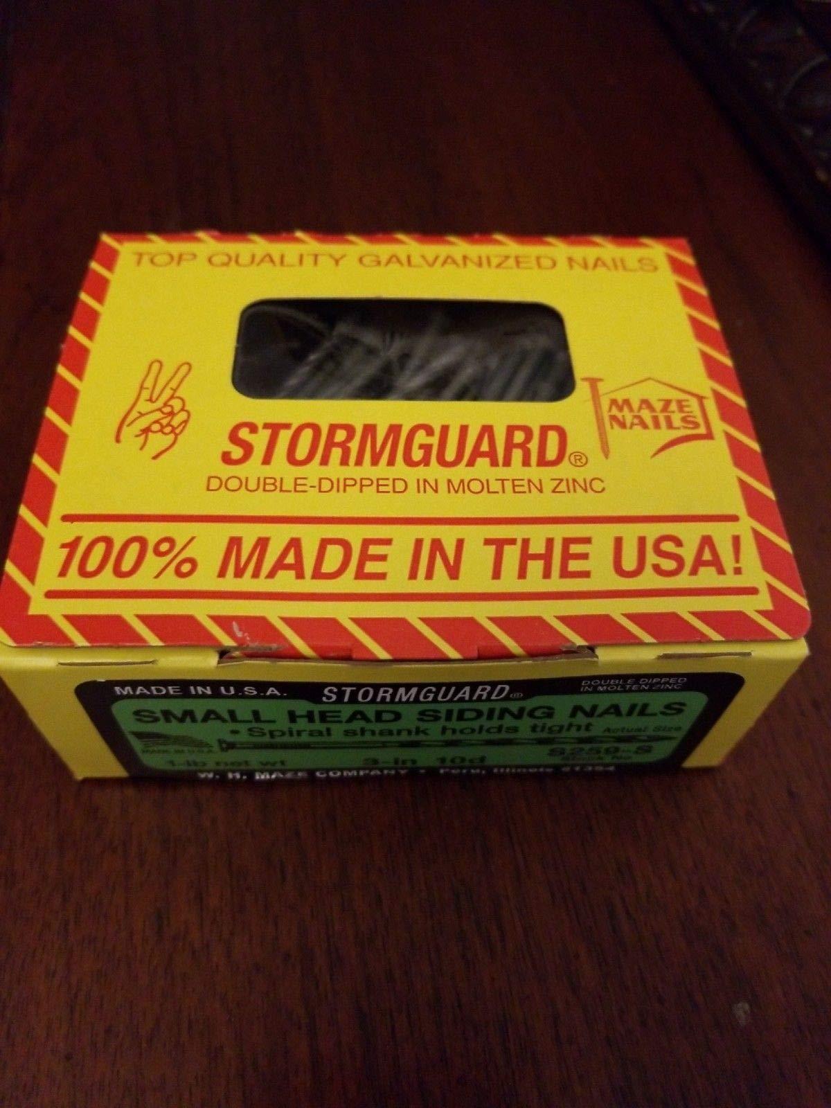 SMALL HEAD SIDING NAILS by STORMGAURD