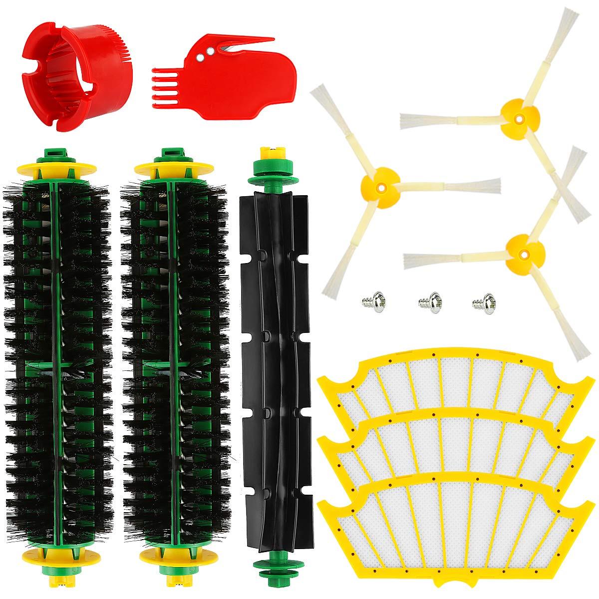 Acquisto POWER-XWT 500 Serie Sostituire gli accessori per aspirapolvere per iRobot Roomba Serie 500 520 521 530 531 532 533 534 535 536 540 545 550 552 560 561 562 510 505 Ricambi per filtri a spazzole Prezzo offerta