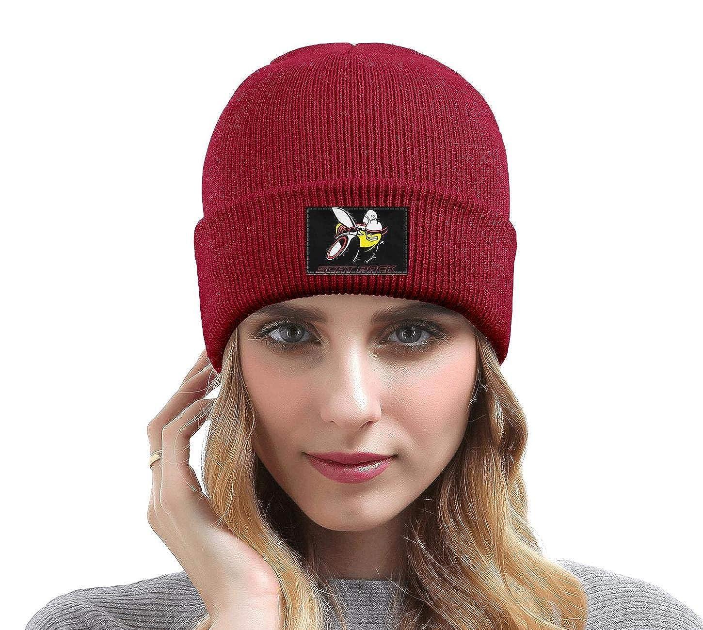 Mens Womens Knit Hat Dodge-Scat-Pack-Logo Style Warm Woolen Sport Skull Cap