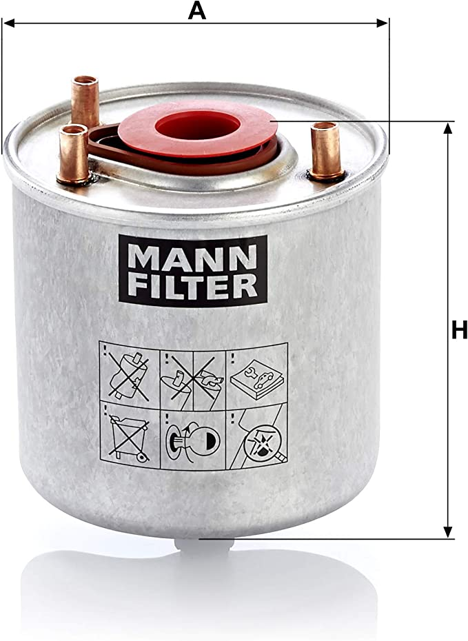 Original Mann Filter Kraftstofffilter Wk 9046 Z Kraftstofffilter Satz Mit Dichtung Dichtungssatz Für Pkw Auto