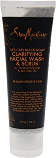 product image for Shea Moisture, African Black Soap Problem Skin Facial Wash & Scrub, 4 oz Per Tube (2 Pack)