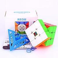 Liangcuber Moyu MoFang JiaoShi 2020 RS3 M 3x3 Speed Cube Stickerless Cubing Classroom MFJS MF3RS3 M 2020 Magnetic 3X3x3…
