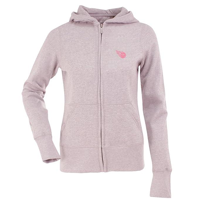009a61cc9b42 Amazon.com   NFL Women s Tennessee Titans Signature Full Zip Hood (Mid  Pink