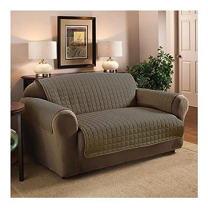 marrón) lujo calidad microfibra mascota perro sofá muebles ...