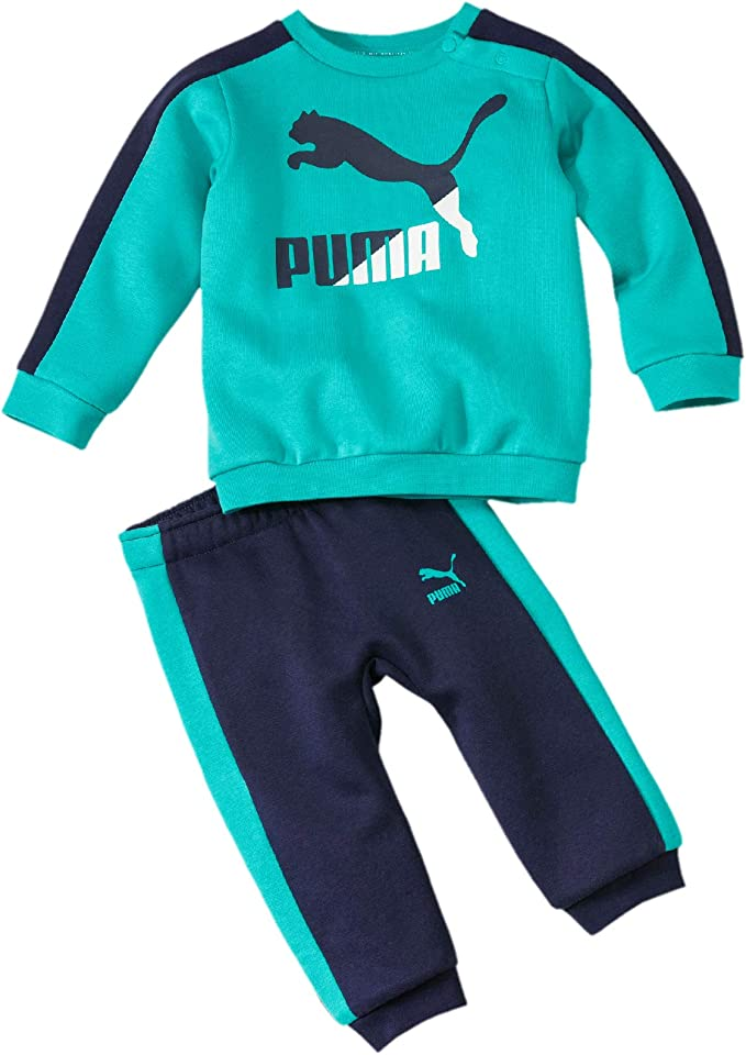 PUMA Minicats T7 Crew Jogger FL Chándal, Unisex niños: Amazon.es ...