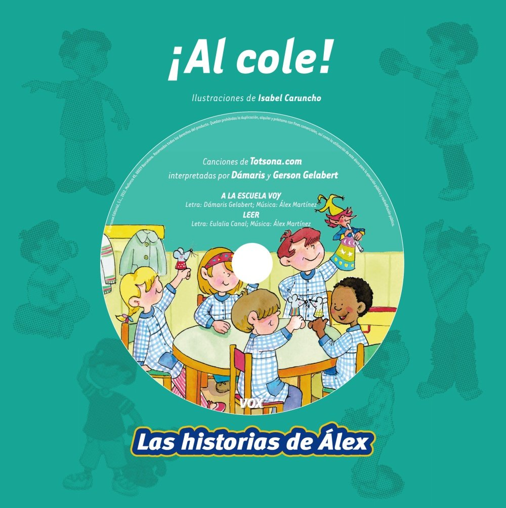 Al cole! / To School! (Las historias de Alex / Alexs Stories) (Spanish Edition): Angels Casanovas, Isabel Caruncho: 9788499740485: Amazon.com: Books