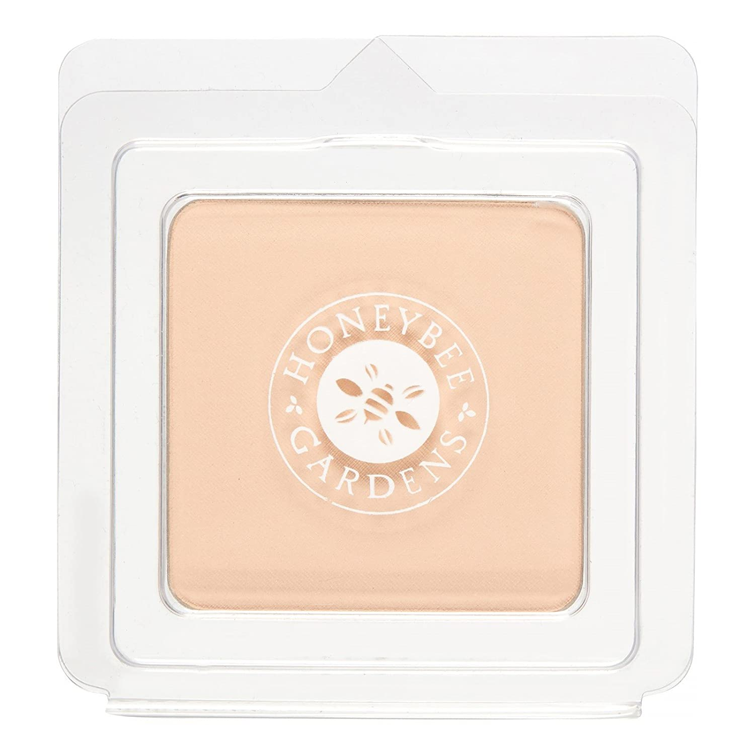 Honeybee Gardens Pressed Mineral Powder Foundation Refill, Supernatural,8g