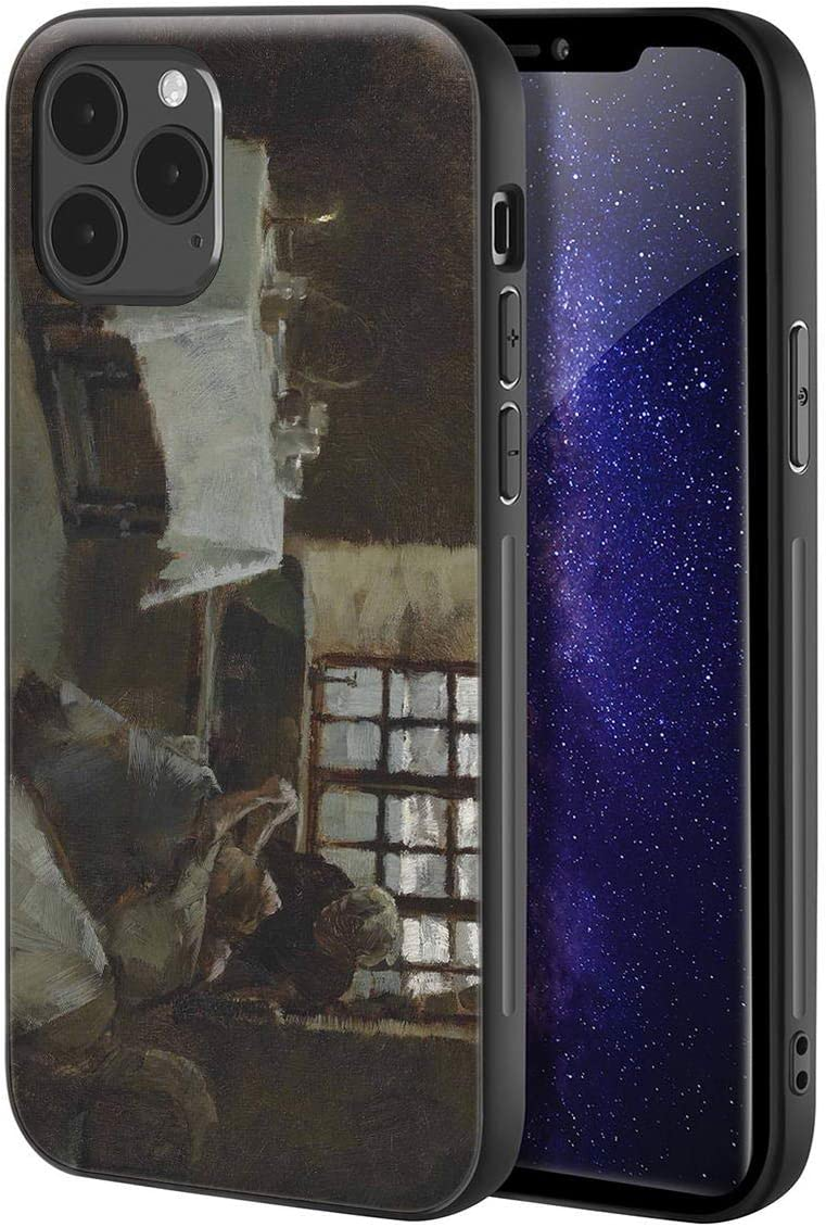 Frank Bramley for iPhone 12/iPhone 12 Pro Case/Art Cellphone Case/Giclee UV Reproduction Print on Mobile Phone Cover(Sketch for A Hopeless Dawn)