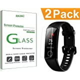 RKINC for Huawei Honor Band 4 Screen Protector, [2 Pack] Crystal Clear Liquid Film Screen Protector [9H Hardness][2.5D Edge][0.33mm Thickness][Scratch Resist] for Huawei Honor Band 4
