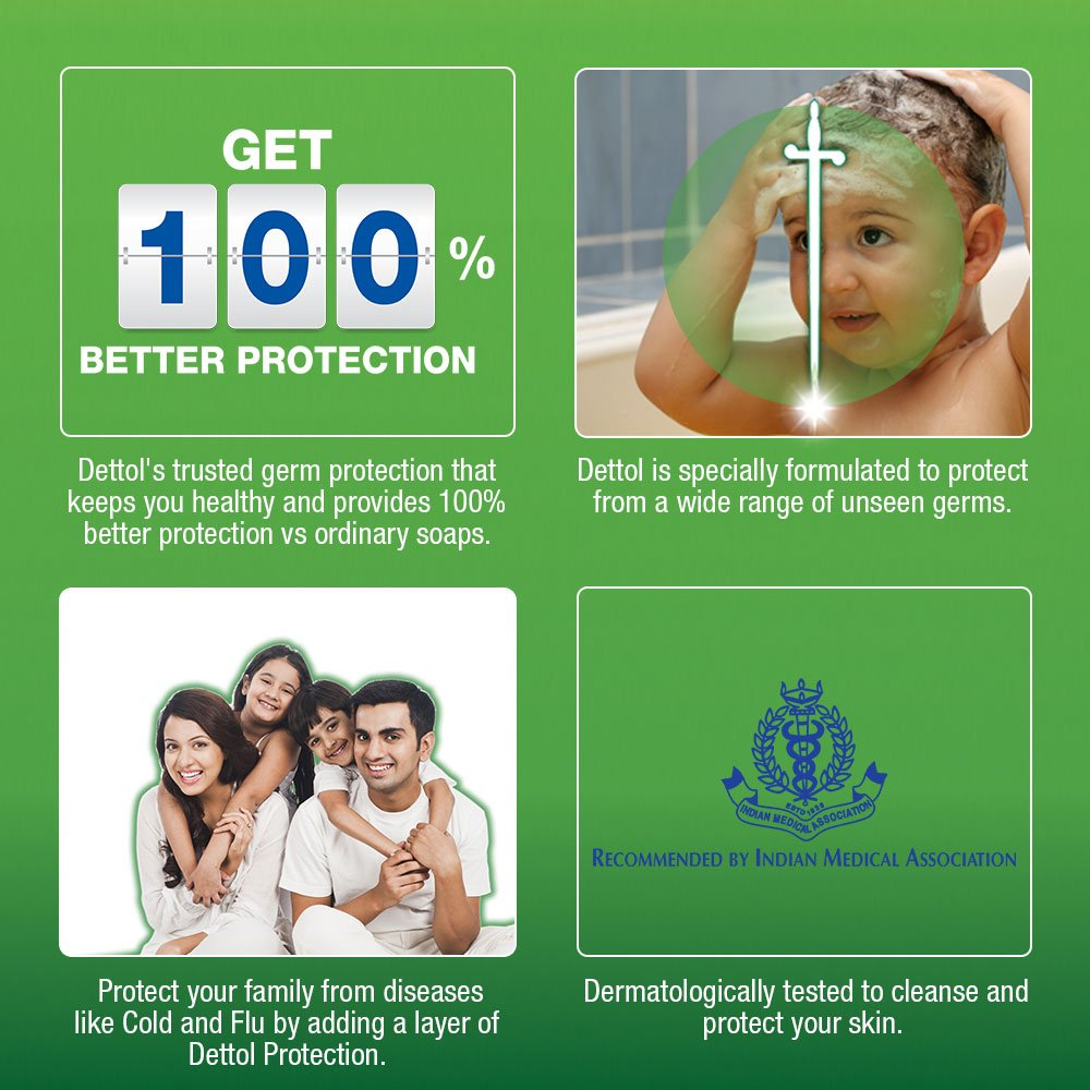 Buy Dettol Cool Soap 3x75g With Free 75g Online At Low Prices Bar 105 Gr 5 Pcs In India