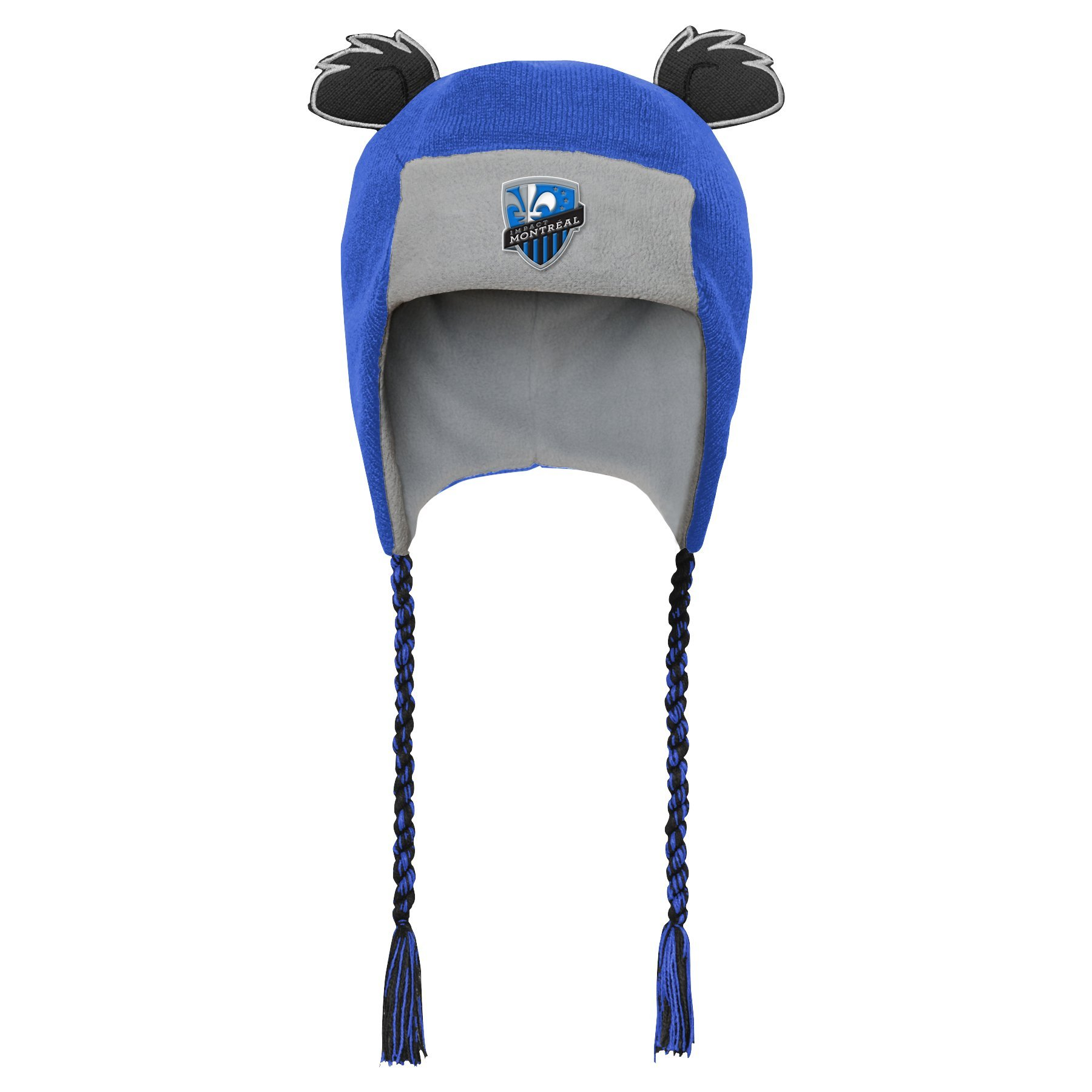 Outerstuff MLS Montreal Impact R S47DL Boys Ears Trooped Hat, One Size, Strong Blue