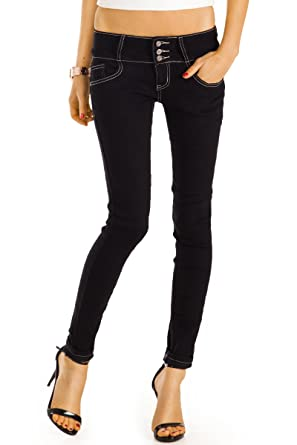 a0ed7c4f38c3 bestyledberlin Damen Skinny Jeans, Slim Fit Röhrenjeans, Enge Hüftjeans,  Baumwoll Hosen j39f  Amazon.de  Bekleidung
