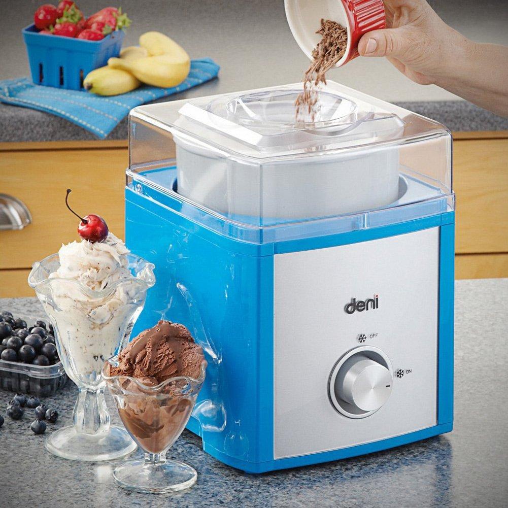 Amazon.com: Deni Square 5221 Ice Cream Maker, 2-Quart: Kitchen & Dining
