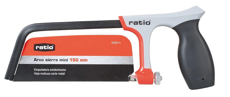 Ratio 6320H - Arco Sierra (Mini) Mango Plástico Ratio: Amazon.es: Bricolaje y herramientas